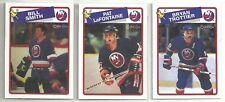 1988-89 O-PEE-CHEE Hockey New York Islanders 14-card Team Set Billy Smith