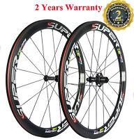 Superteam  Carbon Clincher Wheels 50mm Cycling Carbon Road Wheelset Race Wheel