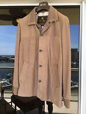 "Loro Piana Men's ""Maremma"" Nabuk Light Suede Jacket Size Medium Retail $5,995.00"