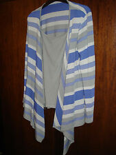 Per Una Marks and Spencer Top and Cardigan Twin Set Size 10 Grey and Purple