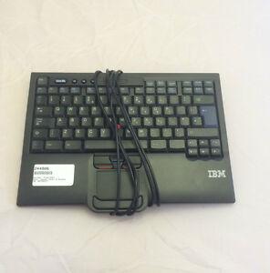 IBM 8887 Space Saver 2 Keyboard English 40K9427 94Y6135 01MP572 01KR288 00MV973