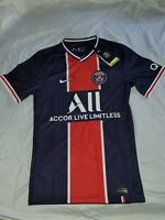 Nike Paris Saint-Germain Home Stadium Soccer Jersey AJ5553-411 Men's Size XS