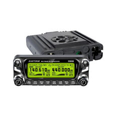 Zastone ZT-D9000 UHF VHF Car Transceiver FM Mobile Radio 512CH 50W Walkie Talkie