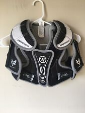 Warrior Rabil Next Youth Medium Chest Shoulder Guard Protector Black