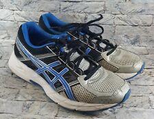 ASICS Gel Contend 4 Men's Size 8 Running Shoes T715N Black/White/Silver/Blue