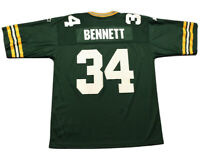 Vintage Men's Edgar Bennett #34 Green Bay Packers NFL Jersey Sz 52 Football 1995