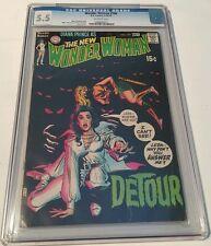 Wonder woman # 190, 1970 cgc 5.5
