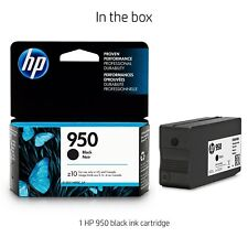 HP 950 Black Noir Ink Cartridge (CN049AN) Original