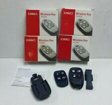 DSC WS4939 Wireless 4-Button Remote Alarm Keyfob, Brand New T22