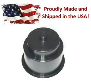 Black Recessed Drop in Plastic Cup Drink Can Holder with Drain Hole Car Boat RV