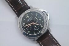Panerai Luminor Marina Daylight Chronograph Pam 196 w/ Box & Booklets