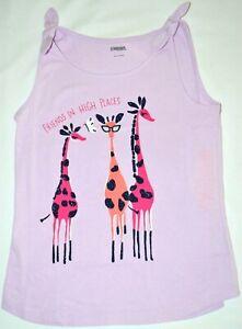 Gymboree Mix N Match Giraffe FRIENDS In HIGH PLACES Tank Top 10 12 Kid Girls NWT