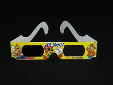 Yogi Bear 3-D Glasses - Kellogg's Rice Krispies & Hanna Barbera
