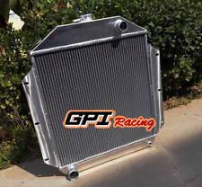 62 mm aluminum radiator for FORD CAR w/302 5L V8 1949 1950 1951 1952 1953 manual