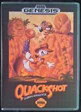 Quack Shot Starring Donald Duck Genesis High Quality Box art/Case by RetroDan