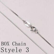 REAL Classic 925 Sterling Silver Chain Necklace SOLID SILVER .925 Jewelry Italy