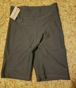 NWT ORANGE THEORY Gray Compression Shorts Athletic Gear - Men's Size Medium $46
