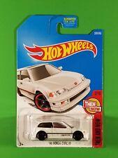 Hot Wheels - '90 Honda Civic Ef (White)