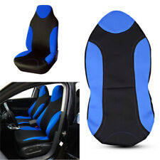 Blue Polyester Fabric Car Seat Covers Cushion For High Back Seat Truck Cars SUV