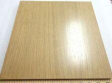 "White Oak (Rift) prefinished wood veneer panel 12"" x 12"" on 3/4"" plywood board"