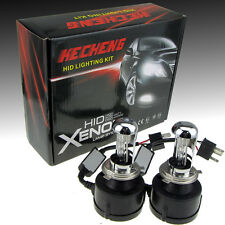 55W Integrated HID Xenon Conversion Kit H4 Bi-Xenon Hi/Lo 6000K Headlights Bulbs
