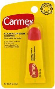 Carmex Lip Balm Classic Medicated .35 oz (10 g)