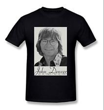 Men's John Denver T-Shirt Father's Mother's Day Tee Vintage Gift For Men Women