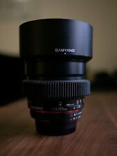 Rokinon 85mm f/1.4 Lens for Nikon