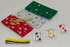 Dollhouse Miniatures Sewing Kit, Multi Sewing Items