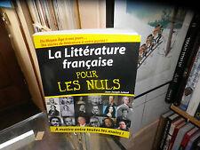 La Littérature Française pour les Nuls - Jean-Joseph Julaud