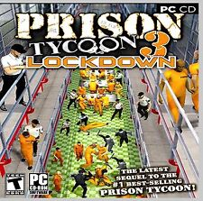 PRISON TYCOON 3: LOCKDOWN.TAKE COBTROL OF A PRIVATELY RUN PRISON NEW. SHIPS FREE