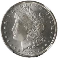 1879-S Morgan Silver Dollar NGC MS65 Bright White Nice Strike STOCK