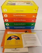 New ListingHooked On Phonics Learn To Read Sets 1-5 Books Cassettes Flash Cards Home School