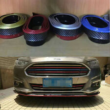 Universal Front Rear Bumper Edge Strip Chin Protection Side Skirts Spoiler Lip