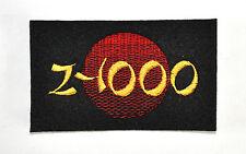 Z-1000 RISING SUN EMBROIDERED SEW ON BADGE-KAWASAKI