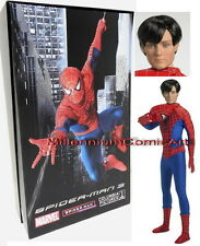 """TONNER SPIDER-MAN 3 DLX COLLECTORS DOLL 17"""" BOXED FIGURE ~ MARVEL  Tobey Maguire"""