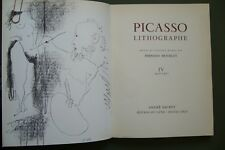 PICASSO LITHOGRAPHE IV WITH 2 ORIGINAL LITHOGRAPHES (MOURLOT 388...) (SI:1, 18)