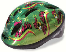 SH+ Childs Childrens Boys Girls Bike Bicycle Cycle Helmet Green Medium 52-56cms