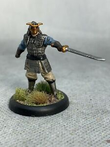 Samurai Fighter Painted Miniature for D&D or Pathfinder Fantasy RPG
