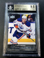CONNOR MCDAVID 2015 UPPER DECK #201 YOUNG GUNS ROOKIE ALL BGS 9.5 10 SUBGRADES