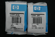 Genuine Original HP 901 Nero + Tri-le cartucce di inchiostro a colori