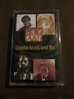 Columbia Records Great Hits - Various Pop Artists - Cassette Tape NIP 1995 rare