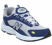 Mens New Balance 615 Trainers Blue Silver Trainers Shoes