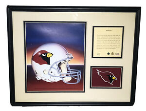 1994 Phoenix Cardinals Framed & Matted Kelly Russell Lithograph Art Print #320