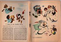 QUADERNO D'EPOCA ANNI '30-'40 N. 7 STORIA DI DUE BAMBINI BUONI  -Q59