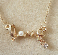LOVE NECKLACE, GOLD SETTING, BIRTHDAY, CHRISTMAS, AND MORE