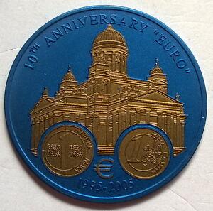 Liberia 2005 Helsinki Tuomiokirkko 5 Dollars Niobium Coin,BU