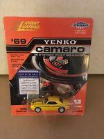 NEW Johnny Lightning 1:64 Yenko 1969 Camaro Die Cast Car 69 Yellow Limited Editi