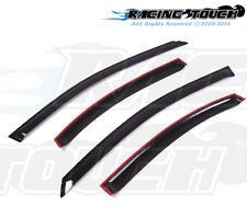 For Chevrolet Sonic Sedan 12-16 Dark Grey Out-Channel Window Visor Sun Guard 4pc