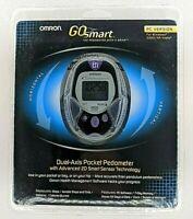 New! OMRON GO SMART Dual-Axis Pocket Pedometer HJ-720ITC Advanced 2D Sensor